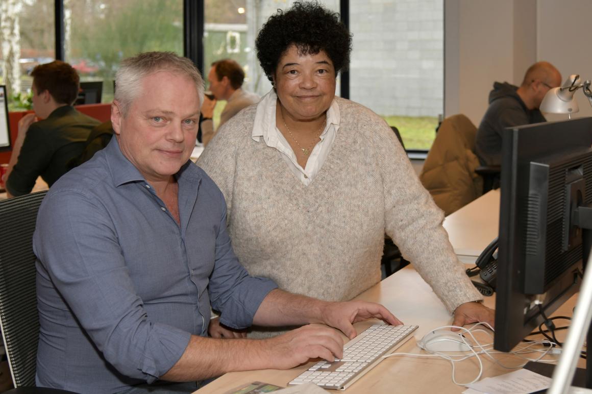 Karel van den berg en Yvonne Dankfort